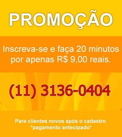Promoção Dos R$9,00 Reais